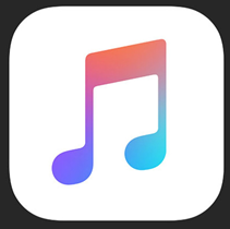 iOS music icon