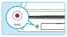 Nintendo wii u sync button