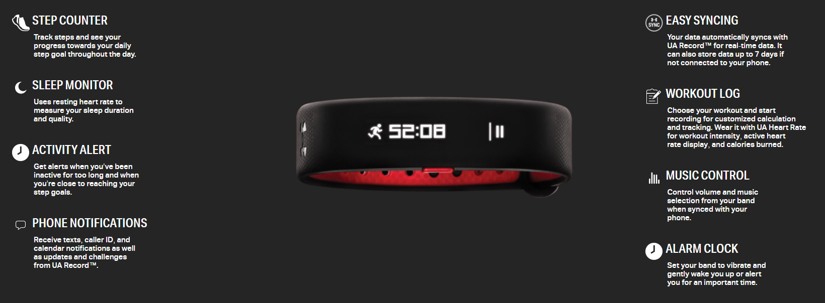 Under Armor band