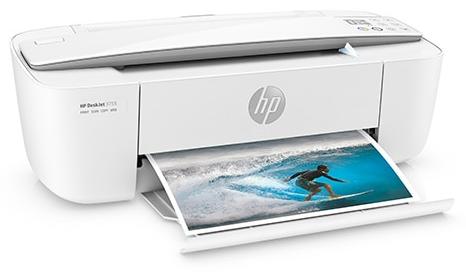 A hp printer