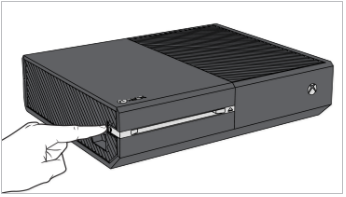 Xbox One original connect button. Illustration.