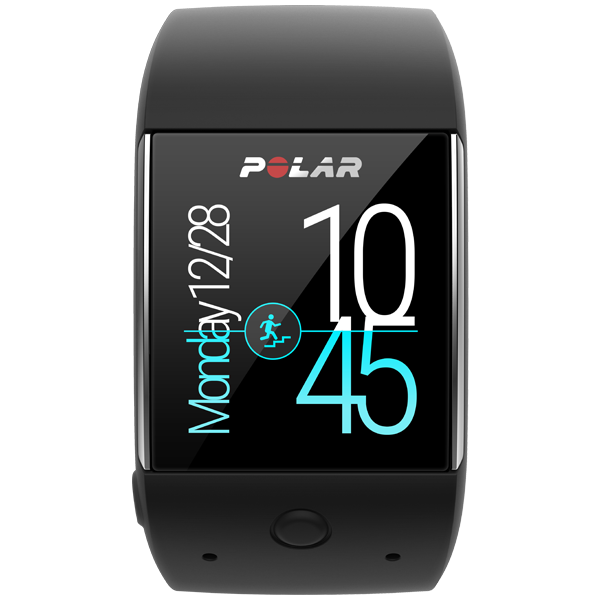 A polar m600 fitness tracker